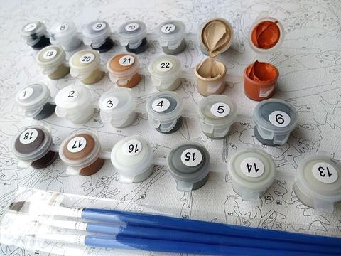 paint numbers kit